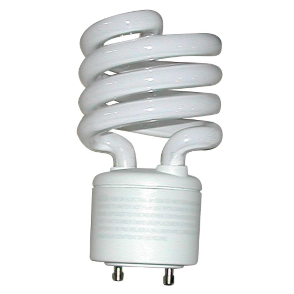 13-Watt GU24 Compact Fluorescent Light Bulb
