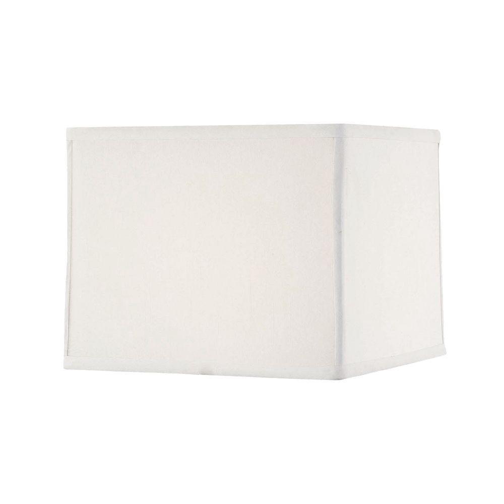 """White Silk (8x9.5)"""" x (8.5x10)"""" x 8"""" Uno"""