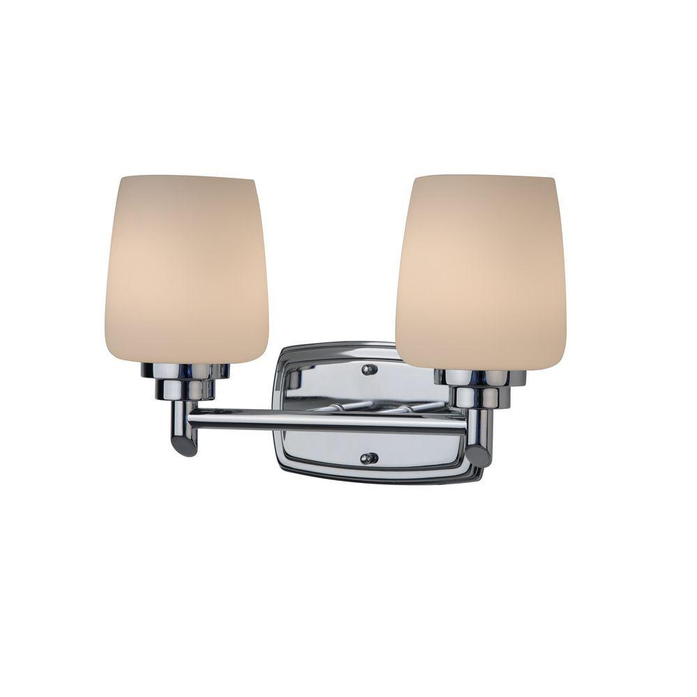 Chamonix Two-Light Bathroom Vanity Light