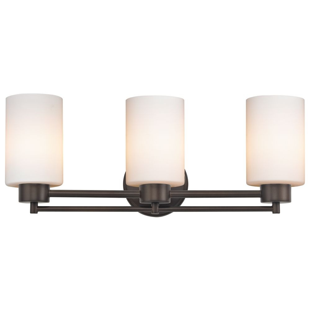 Salida Three-Light Bathroom Vanity Light