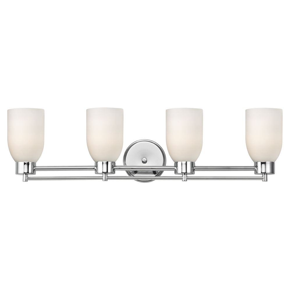 Chrome 4 Light Bath Fixture