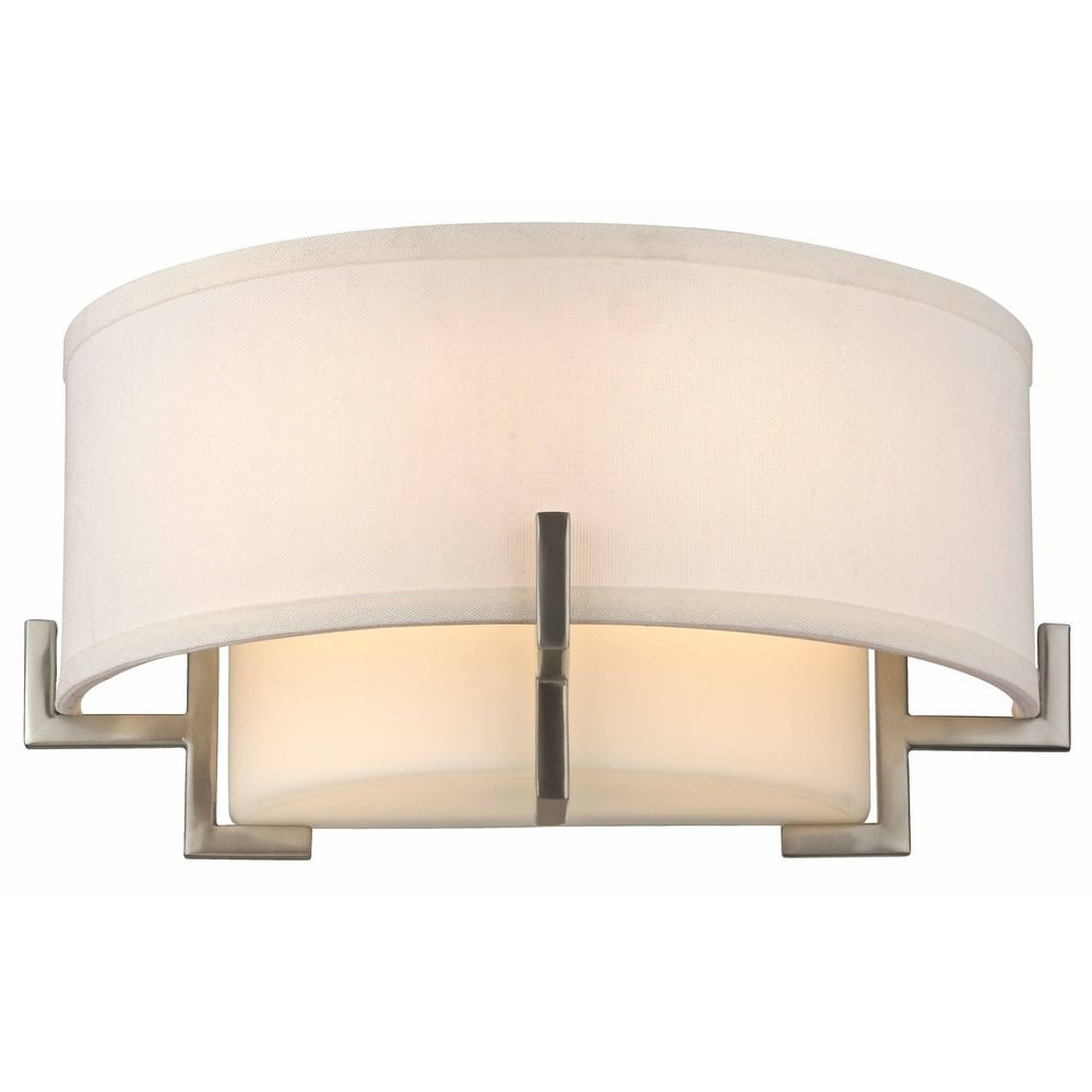 Avila Satin Nickel Sconce