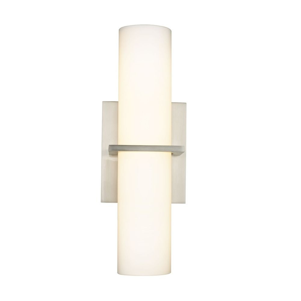 Satin Nickel LED Sconce