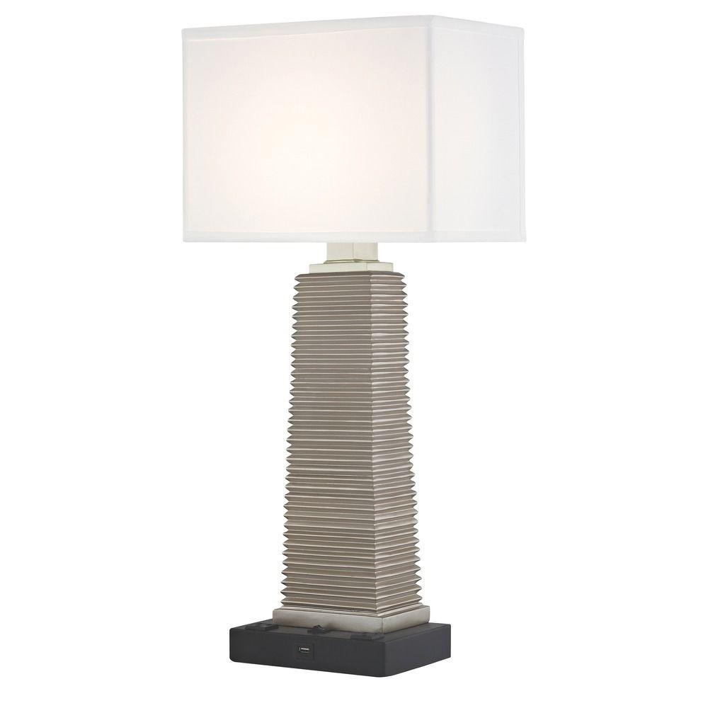 YUKON LEDGE LAMP Single Switch with Black Base
