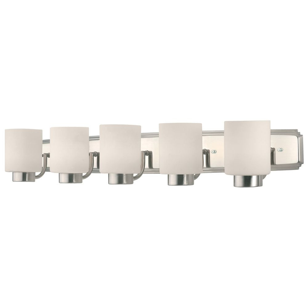 Westport Five-Light Bathroom Vanity Light