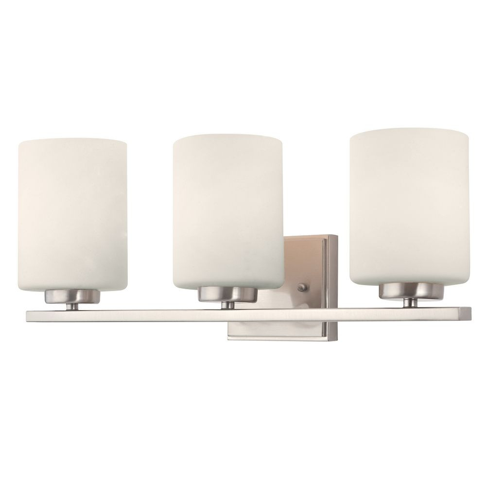 Chloe Three-Light Bathroom Vanity Fixture