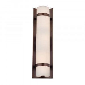 Duo Neuvelle Bronze Bathroom Light - Vertical Mounting Only