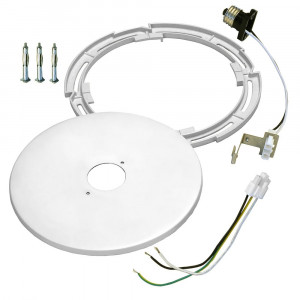 Recessed Light Converter Kit for 4 to 6-Inch Recessed Lights