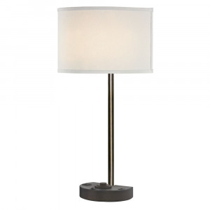 SIMPLICITY LEDGE LAMP Single Switch with Remington Bronze Base