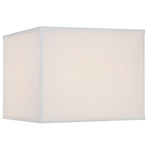 "Pure White Silk 12""""x12""""x9.5"""""