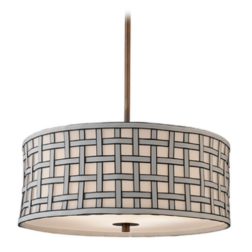 Milo Bronze Finish Pendant Light with Shade