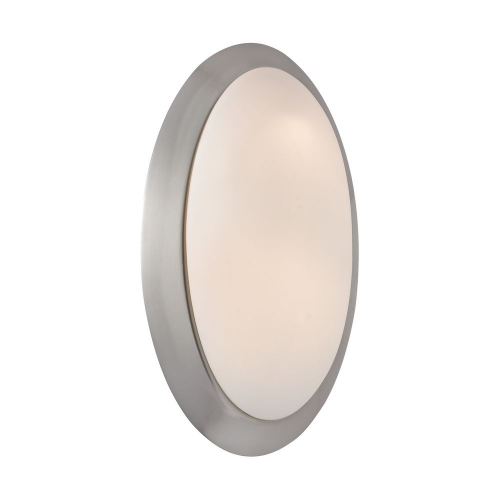 Orbi Satin Nickel Sconce