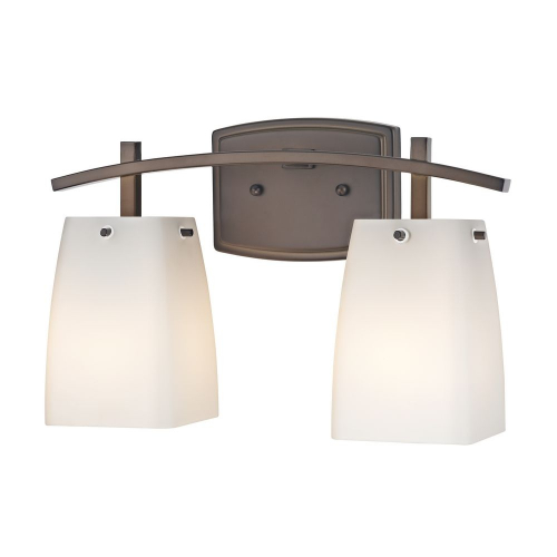 Modern Prairie Two-Light Bathroom Light