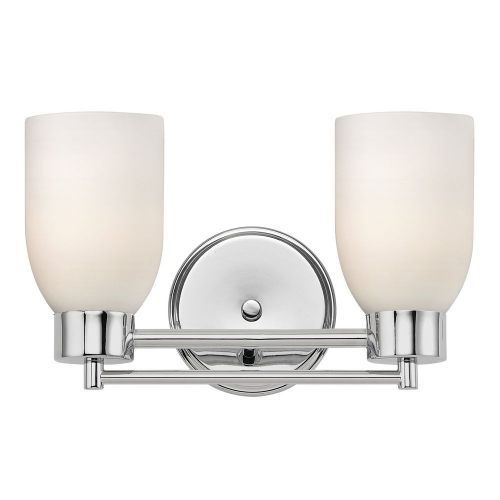 Chrome 2 Light Bath Fixture