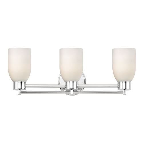 Chrome 3-Light Bath Fixture