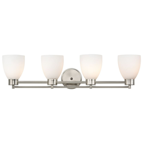 Salida Satin Nickel 4-light, Bathroom Light