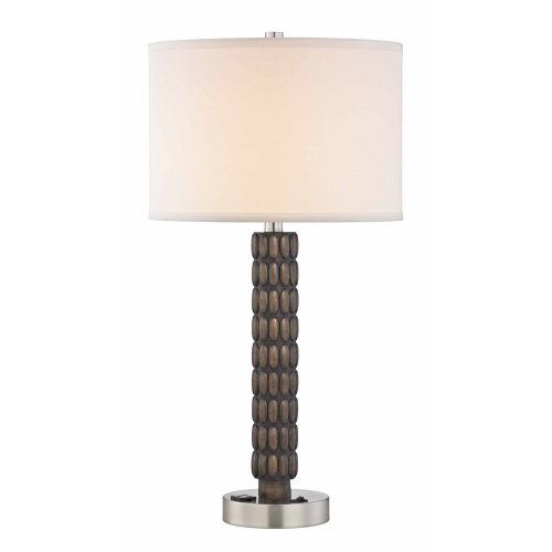 Oval Poly Table Lamp