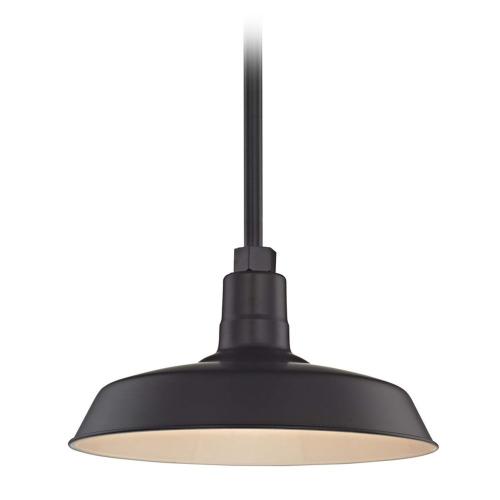 Barn Light Pendant Black with 14-Inch Shade