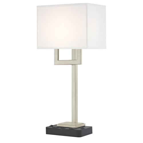 SUMMIT LEDGE LAMP Dual Switching with Black Base