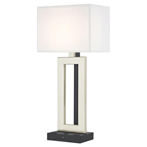 PARAMOUNT LEDGE LAMP Single Switch with Black Base