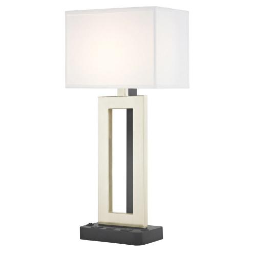 PARAMOUNT LEDGE LAMP Dual Switching with Black Base