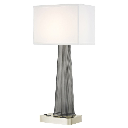 OLYMPUS LEDGE LAMP Dual Switching with Satin Nickel Base