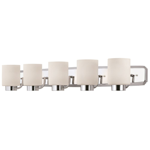Westport Five-Light Vanity Bathroom Light